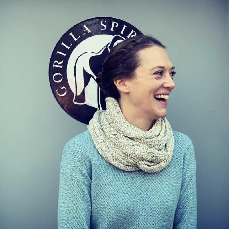 Gorilla distillery crew team member Kirsty Peet Gin School Manager - Gorilla Spirits Co.