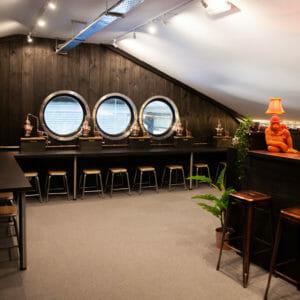 The Gorilla Spirits Co. distillery visitor centre - home of the Gorilla Spirits Co. Gin School